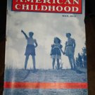 Vintage AMERICAN CHILDHOOD Magazine May 1942 Field Walk