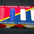 Vintage 1940s DENNISON Cardboard Embossed Poker Chips
