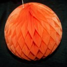Vintage HALLOWEEN Honeycomb Ball Accoridon Paper Decoration