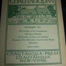Antique THE CHAUTAUQUAN Magazine December 1910 Democratic England
