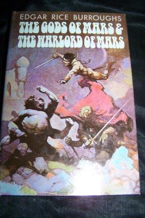 GODS OF MARS WARLORD Edgar Rice Burroughs Frazetta Book