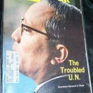Vintage NEWSWEEK Magazine October 3 1966 TROUBLED U.N