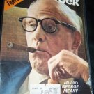Vintage NEWSWEEK Magazine Sept 6 1971 AFL GEORGE MEANY