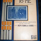 Antique 1907 Negro Americana Black Face Bellhop Minstril Sheet Music DAT'S MUSIC TO ME