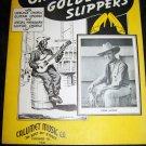 Vintage 1935 Black Americana OH DEM GOLDEN SLIPPERS Gene Autry Sheet Music
