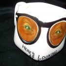 Vintage 1959 Venticular Eyes GLASSES Novelty Parksmith Mug