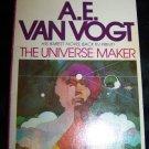 Vintage The Universe Maker (1976) A.E. Van Vogt PB Book