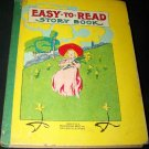 Antique EASY TO READ STORY BOOK Children's Mcloughlin Brothers