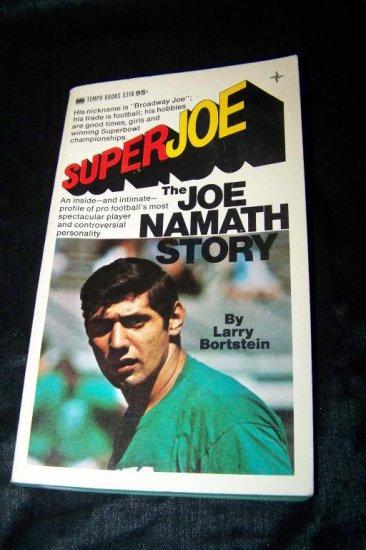 Vintage 1969 SUPER JOE NAMATH Larry Bortstein 1st Book