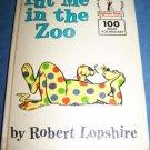 Vintage 1960 PUT ME IN ZOO~Dr Seuss~Beginner Book