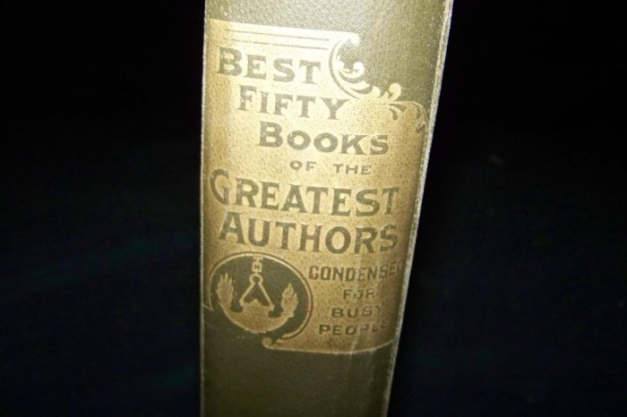 Best Fifty Books of the Greatest Authors Condensed Book