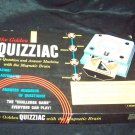 Vintage 1960 The Golden Quizziac Quiz Question Answer Game Magnetic Brain Complete