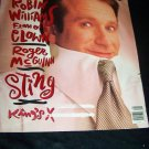 Rolling Stone Magazine February 21 1991 Robin Williams, Roger McGuinn, Sting, King's X