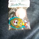 Vintage 1960s Holly House Party Favors TIN LION Noise CLACKER & Plastic Maze Game Mint in Bag