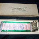 Vintage M.C. Lilley Co Badge Ribbon Elizabeth Rebekah Lodge Box