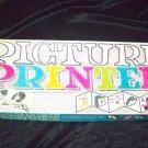 Vintage PICTURE PRINTER Arnold Toy Stamp Block Play Set