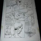 Original BLACK ORCHID Comic Book Art issue #11, pg. 23. Rebecca Guay
