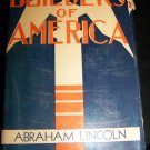 Vintage 1931 Builders of America Abraham Lincoln:the Great Emancipator by Clifford Smyth HC/DJ Book