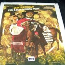 Vintage FOR A FEW DOLLARS MORE Part I & II Videodisc Video Disc Movie