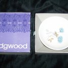 Vintage Wedgwood Ice Rose Small Saucer with Box