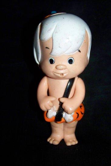 Vintage Bamm Bamm Flintstones Kenner Plastic Figure