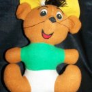 """Vintage SPEEDY GONZALES 8"""" Stuffed Animal Doll Toy Fun Farm"""