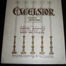 Antique 1900 EXCELSIOR Shapiro Bernstein Sheet Music