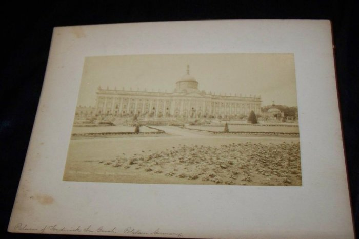 Antique Cabinet Photo Palace of Frederick Great Germany