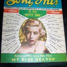 Vintage Song Hits Magazine Gloria De Haven Dec 1950