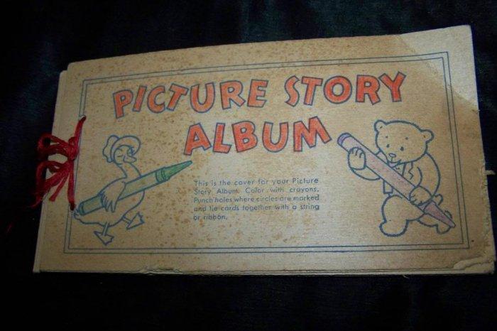 Vintage 1940s Nabisco PICTURE STORY ALBUM Cereal Premium Lot