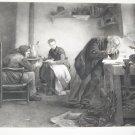 Antique Ridgway Knight~The Inventor~Photogravure Fine Art Print