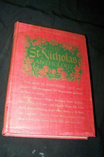 Vintage 1948 Saint St Nicholas Magazine Anthology Henry Steele Commager HC Book