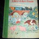 Vintage The Choo-Choo Train. a Bonnie Book Illustrated By Oscar Fabres