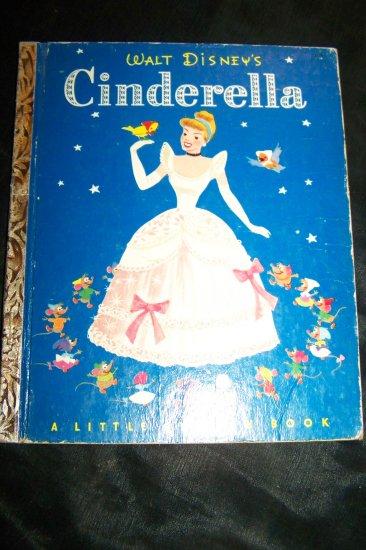 Vintage Walt Disney's Cinderella a Little Golden Book by Campbell Grant