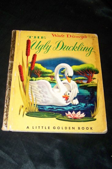 Vintage Walt Disney's THE UGLY DUCKLING A Little Golden Book 1st Edition