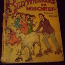 Antique 1926 BILLY WHISKERS IN MISCHIEF Saalfield Book by Frances Brundage