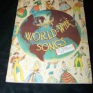 Vintage 1936 Treasure Chest of WORLD-WIDE SONGS Childs Book