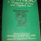 Vintage 1926 THE STUDIO The Magazine of Fine and Applied Art v92 #404