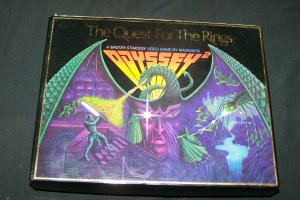 Rare Vintage The Quest For The Rings (Magnavox Odyssey 2) Video Cartridge Roleplaying Board Game