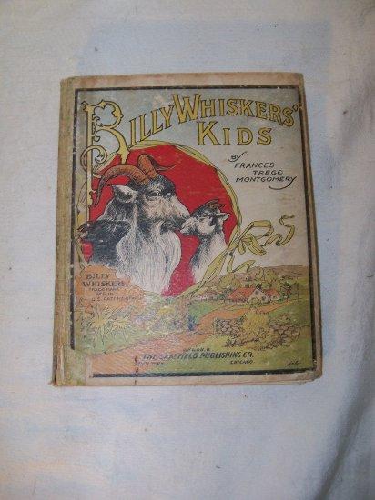 Antique 1903 BILLY WHISKERS KIDS Saalfield Children's Book by Frances Brundage