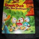 Vintage 1956 Walt Disney's Donald Duck and the New Birdhouse HC Book