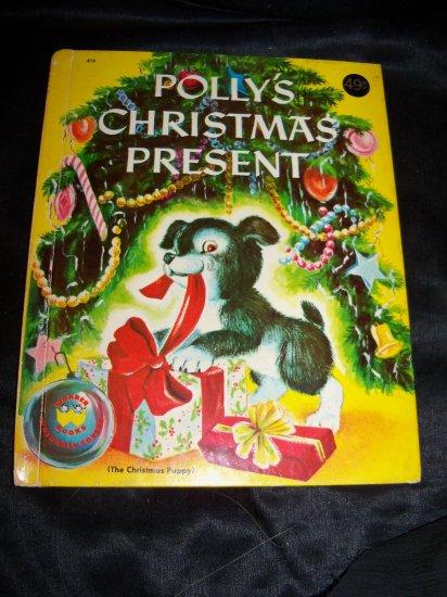 Vintage 1953 POLLY'S CHRISTMAS PRESENT Wonder Book