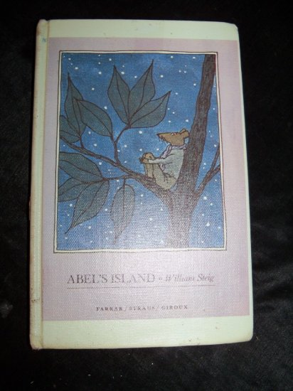 Vintage 1977 ABEL'S ISLAND William Stieg HC Book 3rd Print