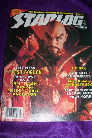 Vintage STARLOG Magazine December 1980 #41 Alien, Flash Gordon, John Carpenter