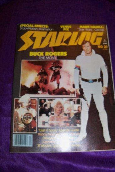 Vintage STARLOG Magazine April 1979 #21, Superman, Lost in Space, Mark Hamill