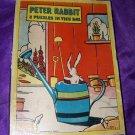 Vintage 1930s PETER RABBIT Milton Bradley Puzzle Lot 4343