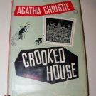 Vintage 1949 CROOKED HOUSE Agatha Christie HC/DJ Mystery Book
