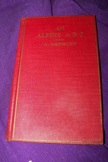 Vintage An Alpine ABC Rock Garden Plants A Methuen HC Book