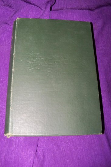 Antique 1891 Saxe Holm's Stories: Second Series HC Book