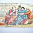 Victorian Trade Card Liquid Glue Shoemaker Chromo Litho
